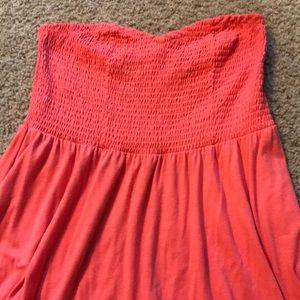 Strapless Torrid dress